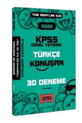 Yargı Yayınları - Yargı Yayınları 2022 KPSS Tüm Adaylar İçin Genel Yetenek Türkçe Konuşan 30 Deneme