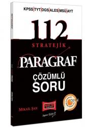 Yargı Yayınları - Yargı Yayınları 2022 KPSS YKS DGS ALES MSÜ 112 Stratejik Çözümlü Soru Bankası