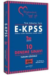 Yargı Yayınları - Yargı Yayınları 2022 Tüm Adaylar İçin EKPSS Tamamı Çözümlü 10 Deneme Sınavı