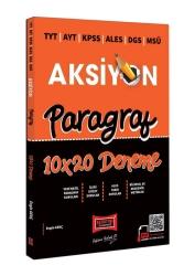 Yargı Yayınları - Yargı Yayınları 2022 TYT AYT KPSS ALES DGS MSÜ Aksiyon Paragraf 10x20 Deneme