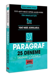 Yargı Yayınları - Yargı Yayınları 2022 TYT AYT MSÜ KPSS ALES DGS Kelebek Serisi Paragraf Tamamı Çözümlü 25 Deneme