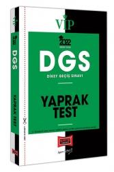Yargı Yayınları - Yargı Yayınları 2022 VİP DGS Yaprak Test