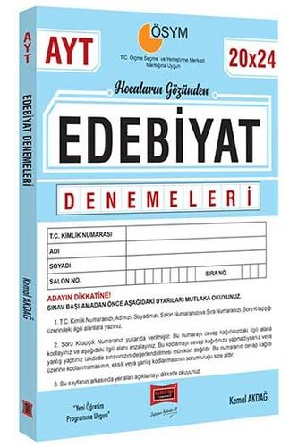 Yargı Yayınları AYT Hocaların Gözünden 20×24 Edebiyat Denemeleri