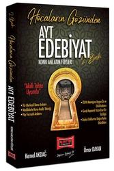 Yargı Yayınevi - Yargı Yayınları AYT Hocaların Gözünden Edebiyat Konu Anlatım Föyleri