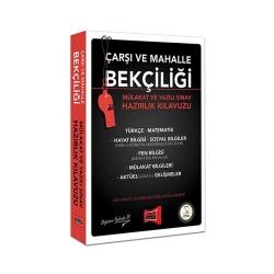 Yargı Yayınevi - Yargı Yayınları Çarşı ve Mahalle Bekçiliği Mülakat ve Yazılı Sınav Hazırlık Kılavuzu