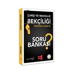 Yargı Yayınları - Yargı Yayınları Çarşı ve Mahalle Bekçiliği Sınavına Hazırlık Soru Bankası