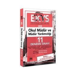 Yargı Yayınevi - Yargı Yayınları EKYS MEB Okul Müdür ve Müdür Yardımcılığı 11 Deneme Sınavı