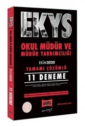 Yargı Yayınları - Yargı Yayınları EKYS Okul Müdür ve Müdür Yardımcılığı Tamamı Çözümlü 11 Deneme Ekim 2020