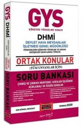 Yargı Yayınları - Yargı Yayınları GYS DHMİ Devlet Hava Meydanları İşletmesi Genel Müdürlüğü Ortak Konular Soru Bankası