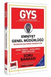 Yargı Yayınları - Yargı Yayınları GYS Emniyet Genel Müdürlüğü Bilgisayar İşletmeni Kadrosu İçin Konu Özetli Soru Bankası