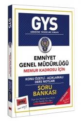 Yargı Yayınları - Yargı Yayınları GYS Emniyet Genel Müdürlüğü Memur Kadrosu İçin Konu Özetli Soru Bankası