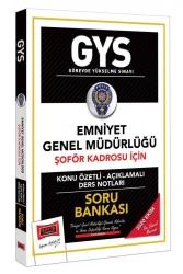 Yargı Yayınları - Yargı Yayınları GYS Emniyet Genel Müdürlüğü Şoför Kadrosu İçin Konu Özetli Soru Bankası