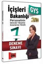 Yargı Yayınları - Yargı Yayınları GYS İçişleri Bakanlığı 7 Fasikül Deneme Sınavı 2014