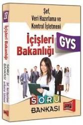Yargı Yayınevi - Yargı Yayınları GYS İçişleri Bakanlığı Şef, Veri Hazırlama Kontrol İşletmeni İçin Soru Bankası