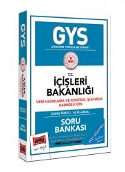 Yargı Yayınları - Yargı Yayınları GYS İçişleri Bakanlığı Veri Hazırlama ve Kontrol İşletmeni Kadrosu İçin Konu Özetli Soru Bankası