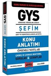 Yargı Yayınları - Yargı Yayınları GYS Kamu Kurum ve Kuruluşlarında ŞEFİM Konu Anlatımı