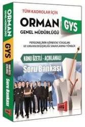 Yargı Yayınları - Yargı Yayınları GYS Orman Genel Müdürlüğü Konu Özetli Açıklamalı Soru Bankası