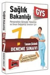 Yargı Yayınları - Yargı Yayınları GYS Sağlık Bakanlığı Tamamı Çözümlü 7 Deneme Sınavı