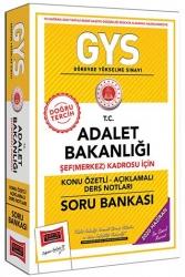 Yargı Yayınları - Yargı Yayınları GYS T.C. Adalet Bakanlığı Şef (Merkez) Kadrosu İçin Konu Özetli Soru Bankası