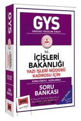 Yargı Yayınları - Yargı Yayınları GYS T.C İçişleri Bakanlığı Yazı İşleri Müdürü Kadrosu İçin Konu Özetli Soru Bankası