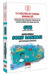 Yargı Yayınları - Yargı Yayınları GYS T.C. Kültür ve Turizm Bakanlığı Kütüphane Müdürü İçin Açıklamalı Soru Bankası