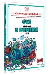 Yargı Yayınları - Yargı Yayınları GYS T.C. Kültür ve Turizm Bakanlığı Şef İçin Çözümlü 5 Deneme