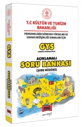 Yargı Yayınları - Yargı Yayınları GYS T.C. Kültür ve Turizm Bakanlığı Şube Müdürü İçin Açıklamalı Soru Bankası
