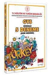 Yargı Yayınları - Yargı Yayınları GYS T.C. Kültür ve Turizm Bakanlığı Şube Müdürü İçin Çözümlü 5 Deneme