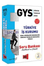Yargı Yayınları - Yargı Yayınları GYS Türkiye İş Kurumu Açıklamalı ve Çözümlü Soru Bankası