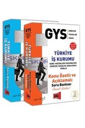 Yargı Yayınları - Yargı Yayınları GYS Türkiye İş Kurumu Konu Anlatımlı ve Soru Bankası Tam Hazırlık Seti