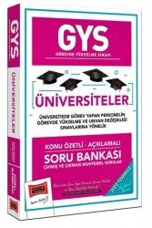 Yargı Yayınları - Yargı Yayınları GYS Üniversiteler Konu Özetli Açıklamalı Soru Bankası