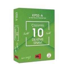 Yargı Yayınları - Yargı Yayınları KPSS A Grubu Çözümlü 10 Fasikül Deneme Sınavı