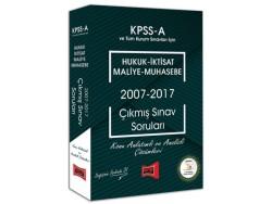 Yargı Yayınevi - Yargı Yayınları KPSS A Grubu Hukuk - İktisat - Maliye - Muhasebe 2007 - 2017 Çıkmış Sınav Soruları