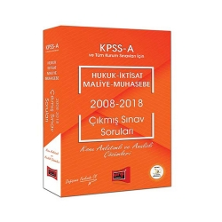 Yargı Yayınevi - Yargı Yayınları KPSS A Grubu Hukuk-İktisat-Maliye-Muhasebe 2008-2018 Çıkmış Sınav Soruları
