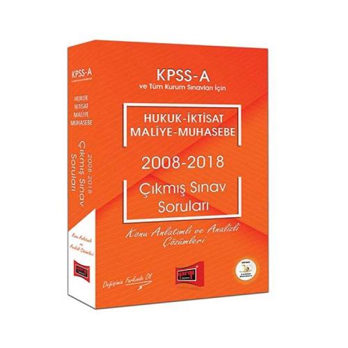 Yargı Yayınları KPSS A Grubu Hukuk-İktisat-Maliye-Muhasebe 2008-2018 Çıkmış Sınav Soruları