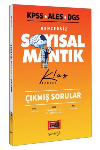 Yargı Yayınları KPSS ALES DGS Benzersiz Sayısal Mantık Çıkmış Sorular Klas Serisi