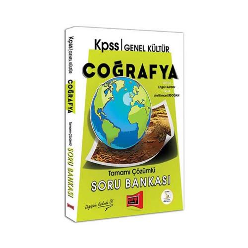 Yargı Yayınları KPSS Coğrafya Tamamı Çözümlü Soru Bankası