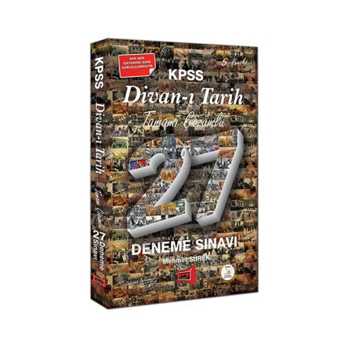 Yargı Yayınları KPSS Divan-ı Tarih Tamamı Çözümlü 27 Deneme Sınavı 5. Baskı