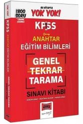 Yargı Yayınları - Yargı Yayınları KPSS Eğitim Bilimleri Anahtar Genel Tekrar Tarama Tamamı Çözümlü 1800 Soru Kitabı