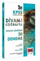 Yargı Yayınları - Yargı Yayınları KPSS GK Divanı Coğrafya Tamamı Çözümlü 20 Deneme