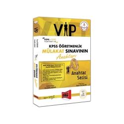 Yargı Yayınevi - Yargı Yayınları KPSS Öğretmenlik VIP Mülakat Sınavının Anahtarı