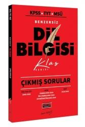 Yargı Yayınları - Yargı Yayınları KPSS TYT MSÜ Benzersiz Dil Bilgisi Çıkmış Sorular Klas Serisi