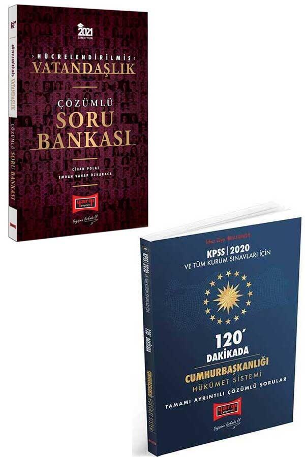 Yargı Yayınları - Yargı Yayınları KPSS Vatandaşlık ve 120 Dakikada Cumhurbaşkanlığı Hükümet Sistemi Çözümlü Sorular Seti
