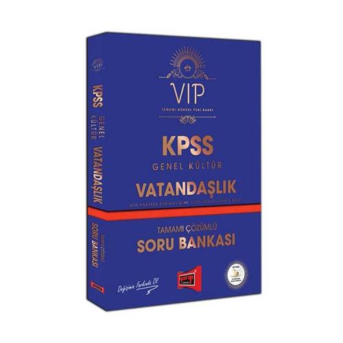 Yargı Yayınları KPSS VIP Vatandaşlık Tamamı Çözümlü Soru Bankası