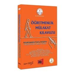 Yargı Yayınevi - Yargı Yayınları MEB Öğretmenlik Mülakat Kılavuzu Ansiklopedik Konu Anlatımı