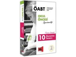 Yargı Yayınevi - Yargı Yayınları ÖABT 7 ÇOK GEÇ Okul Öncesi Öğretmenliği Tamamı Çözümlü 10 Deneme Sınavı