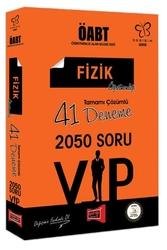 Yargı Yayınları - Yargı Yayınları ÖABT Değişim Serisi VIP Fizik Öğretmenliği Tamamı Çözümlü 41 Deneme