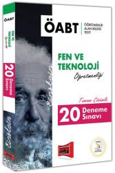 Yargı Yayınevi - Yargı Yayınları ÖABT EINSTEIN Fen ve Teknoloji Öğretmenliği Tamamı Çözümlü 20 Deneme Sınavı
