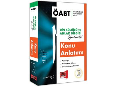 Yargı Yayınları ÖABT ELİF Din Kültürü ve Ahlak Bilgisi Öğretmenliği Konu Anlatımı