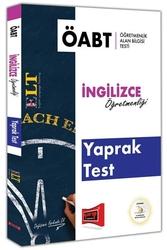 Yargı Yayınları - Yargı Yayınları ÖABT ELT İngilizce Öğretmenliği Yaprak Test